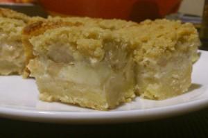 Obuolinis cheesecake