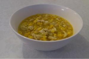Meksikietiska sriuba su vistiena