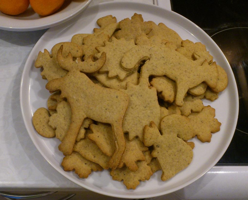 Traskus kalediniai sausainiai